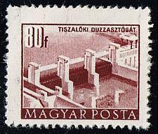 Buy Hungary #1009a Tiszalok Dam; CTO (2Stars) |HUN1009a-01