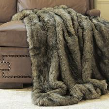 Buy Throw Blanket Tawny Faux Fur Lounge Couch Sofa Bed Accent Decor Wild Mannered