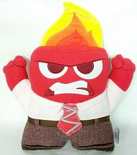 "Buy Disney Pixar Inside Out Anger Flame Plush Stuffed Animal 13"""
