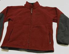 Buy Marmot Men's Full Zipper Heavy Fleece Jacket Size Large Burgundy
