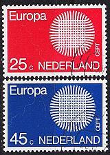 Buy NIEDERLANDE NETHERLANDS [1970] MiNr 0942-43 ( O/used ) CEPT