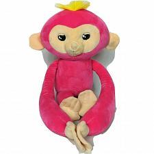 "Buy Fingerlings Talking Moving Eyes Bella Pink Monkey Plush WowWee 2018 19"""