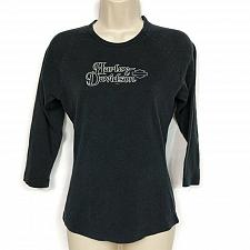 Buy Harley Davidson Womens Doc's St Louis Long Sleeve T-Shirt Medium Black