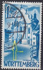 Buy GERMANY Alliiert Franz. Zone [Württemberg] MiNr 0027 y I ( O/used ) [02]