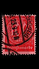 Buy GERMANY REICH Dienst [1922] MiNr 0074 ( O/used )