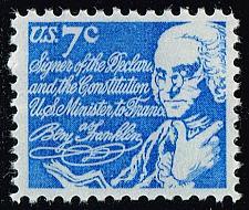 Buy US #1393D Benjamin Franklin; MNH (0.25) (4Stars)  USA1393D-06