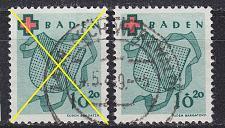 Buy GERMANY Alliiert Franz. Zone [Baden] MiNr 0042 A ( O/used ) [02]