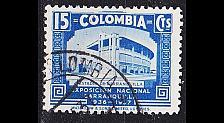 Buy KOLUMBIEN COLOMBIA [1937] MiNr 0382 ( O/used ) Architektur