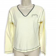Buy Harley Davidson Womens Doc's Harley St Louis T-Shirt Med Yellow Long Sleeve
