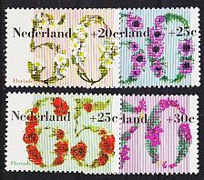 Buy NIEDERLANDE NETHERLANDS [1982] MiNr 1203-06 ( **/mnh )
