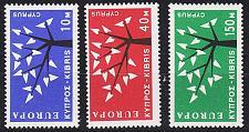 Buy ZYPERN CYPRUS [1963] MiNr 0215-17 ( **/mnh ) CEPT