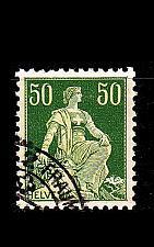 Buy SCHWEIZ SWITZERLAND [1908] MiNr 0107 z ( O/used )