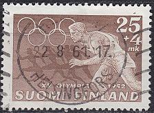 Buy FINLAND SOUMI [1951] MiNr 0402 ( O/used ) Olympiade