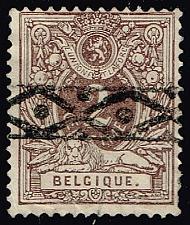 Buy Belgium #55 Numeral; CTO (1Stars) |BEL0055-05XRS