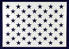 "Buy 50 Star Field Stencil 14 Mil -G-Spec 18.5"" - Painting /Crafts/ Templates"