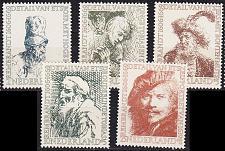 Buy NIEDERLANDE NETHERLANDS [1956] MiNr 0672-76 ( **/mnh ) Kunst