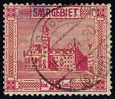 Buy Saar #106 Saarbruecken City Hall; Used (2.25) (2Stars) |SAA106-01XVA