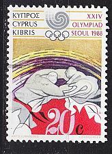 Buy ZYPERN CYPRUS [1988] MiNr 0702 ( O/used ) Olympiade