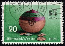Buy Japan #1235 Savings Box and Coins; Used (3Stars) |JPN1235-02XDT