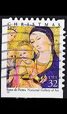 Buy USA [1997] MiNr 2901 BE lu ( O/used ) Weihnachten