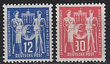 Buy GERMANY DDR [1949] MiNr 0243-44 ( **/mnh ) Post