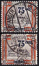 Buy GERMANY Saar [1921] MiNr 0079 I,II ( O/used )