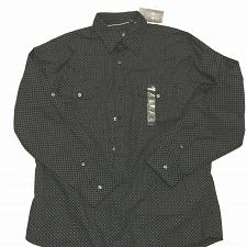 Buy JF Ferrar Modern Fit Casual Shirt Sz XL Long Sleeve 100% Cotton Black NWOT