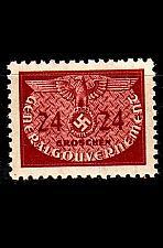 Buy GERMANY REICH GenGouv [Dienst] MiNr 0021 ( **/mnh )