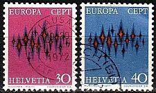 Buy SCHWEIZ SWITZERLAND [1972] MiNr 0969-70 ( O/used ) CEPT