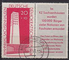 Buy GERMANY DDR [1960] MiNr 0763 WZd24 ( OO/used )