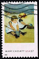 Buy US #3805 Mary Cassatt; Used (0.30) (3Stars) |USA3805-01