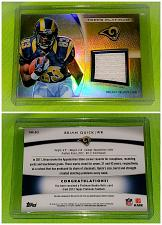 Buy NFL Brian Quick St Louis Rams 2012 Topps Platinum Game-worn Jersey Mint