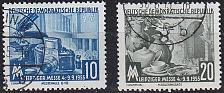 Buy GERMANY DDR [1955] MiNr 0479-80 ( O/used )