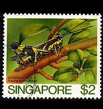 Buy SINGAPUR SINGAPORE [1985] MiNr 0472 ( O/used ) Vögel