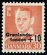 Buy Denmark #B25 King Frederik IX; MNH (5Stars) |DENB025-01