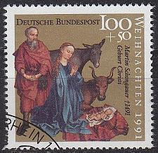 Buy GERMANY BUND [1991] MiNr 1581 ( O/used ) Weihnachten