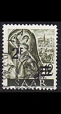 Buy GERMANY Saar [1947] MiNr 0229 ZII ( O/used )