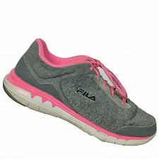Buy Fila Womens Octave Energized Gray Pink Athletic Walking Running Shoes Size 8 M