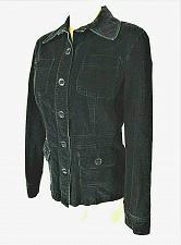 Buy DEBENHAMS womens RED HERRING Sz 12 EU 40 L/S black CORDUROY button jacket (B5)