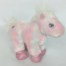 Buy Ganz Webkinz Pink White Sparkle Pony Horse Plush Stuffed Animal HM117 No Code 8""