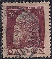 Buy GERMANY Bayern Bavaria [1911] MiNr 0083 II ( O/used )