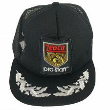 Buy Vintage Zebco Pro Staff Fishing Mesh Trucker Snapback Hat Cap Adjustable