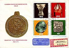 Buy GERMANY DDR [1970] MiNr 1353-56 ( Brief ) Kultur