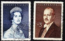 Buy LIECHTENSTEIN [1960] MiNr 0402-03 ( O/used )