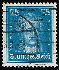 Buy Germany #358 Johann Wolfgang von Goethe; Used (3Stars) |DEU0358-03XRS