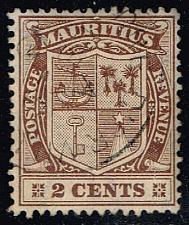 Buy Mauritius #138 Coat of Arms; Used (0.25) (4Stars) |MAU0138-03XRS