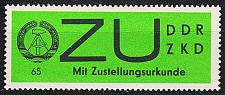 Buy GERMANY DDR [Dienst ZU] MiNr 0002 x ( **/mnh )