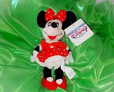 Buy Vintage Licensed Walt Disney Store Valentines Minnie Mouse 5 In Bean Plush