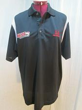 Buy Indy Car Series Racing Polo Shirt Black Firestone Honda Izod mens small