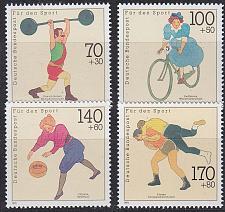 Buy GERMANY BUND [1991] MiNr 1499-02 ( **/mnh ) Sport